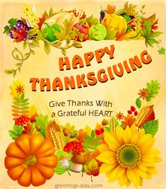 #HappyThanksgiving, #Thanksgiving, #ThanksgivingDay  Thanksgiving Greetings Sayings & Pictures  http://greetings-day.com/thanksgiving-greetings-sayings-pictures.html