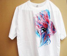 ManolisZoulakis: Hand painted t shirt!