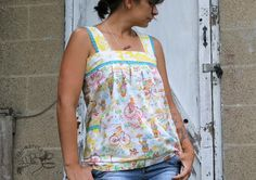 Work in Progress: Selfish Sewing // Ruffled Shirt Tutorial via Made By Rae & Sew Mama Sew