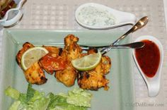This is an easy recipe for Chicken Tikka - Chicken marinated in yogurt and spices and then grilled.