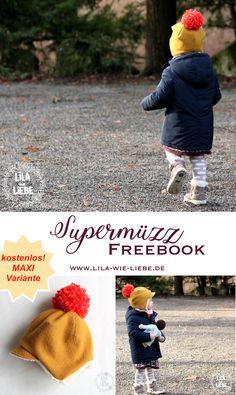 Supermüzz – Freebook  Kindermütze   Wendemütze für warme Ohren nähen  Ingyenes Varrás 3f02d6befe