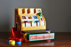 cash register #fisher_price #vintage