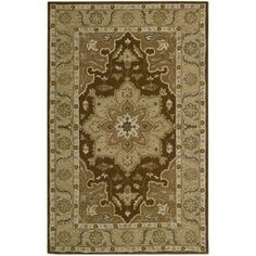 Nourison India House Chocolate Accent Rug 2
