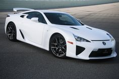 Lexus LFA ~ This car produces such an amazing sound, but I still wonder about the price mark up!
