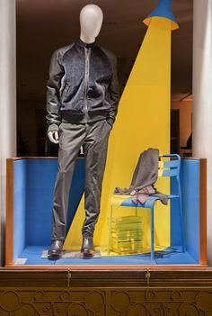 Vitrines Hermès réseau France - Automne 2014/ Windows for the french network - Autumn 2014 - Dimitri Rybaltchenko