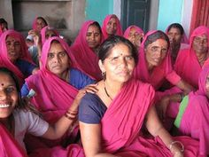 India's Pink Vigilante Women - The Gulabi Gang fed up with abusive husbands and corrupt officials, India's poorest women are banding together, taking up arms, and fighting back. Even more shocking than the pink saris they wear: Their quest for justice is actually working.  When local officials refused to take action against an alleged rapist, scores of pink-sari-clad women stormed the police station, demanding action.