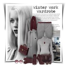 """Winter Work Wardrobe"" by diva1023 ❤ liked on Polyvore featuring GE, Nina Ricci, ClaireChase, Theory, Gabriela Hearst, Henri Bendel, Yves Saint Laurent, Casadei, Tom Ford and Dolce&Gabbana"