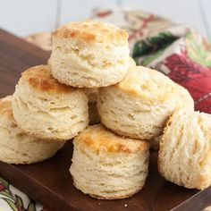 Foolproof Flaky Buttermilk Biscuits by Tracey's Culinary Adventures, via Flickr.