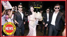 """Angela Phương Trinh được dàn vệ sĩ """"rầm rộ"""" tháp tùng đến sự kiện - Tin ..."""
