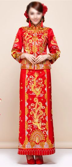304 best Chinese Traditional Wedding Dress / Bridal Kwa Qun Couture ...