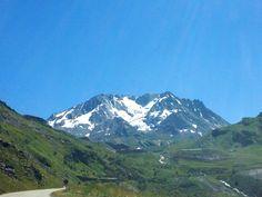 Sur la route de Val Thorens (Savoie)