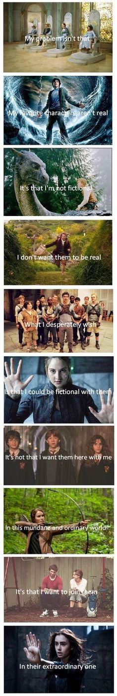 Narnia/Percy Jackson/Water Horse/Hobbit/Maze Runner/Divergent/Harry Potter/Hunger Games/Tfios/The Mortal Instruments Film X, Film Serie, I Love Books, Good Books, My Books, Book Memes, Book Quotes, Heart Quotes, Percy Jackson