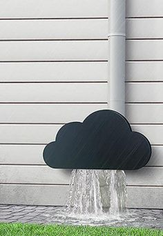 Cloud downspout by Dmitry Kulyayev