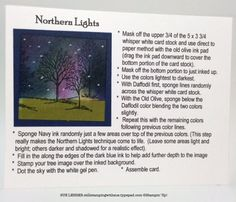 Northern lights directions