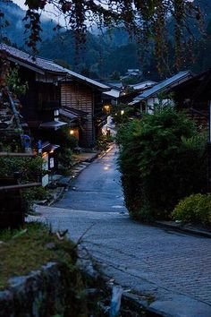 tsumago, japan | villages and towns in east asia + travel destinations #wanderlust