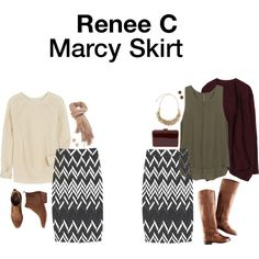 """""""Marcy Skirt"""" by hanger731x on Polyvore"""