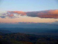 NEAR SUNSET OVER JOSHUA TREE NATIONAL PARK