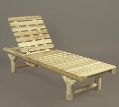 CLICK IMAGE TWICE FOR UPDATED PRICING AND INFO) #chairs #outdoorchairs #poolchairs #loungechairs #outdoorreclinerchair #patio #pool #outdoor SEE MORE patio lounge chairs at http://zpatiofurniture.com/index.php?cat=1716=meta_value=price=asc  74″ Natural Cedar Log Style Outdoor Wooden Chaise Lounge Chair « zPatioFurniture.com