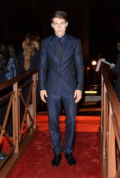 Actor Nolan Gerard Funk at the Valentino Ball at Palazzo Volpi during the 70th Venice International Film Festival on September 4th 2013 in Venice