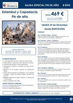 Estambul y Capadocia, especial fin de año, salida de Barcelona, desde 469 €+ tasas ultimo minuto - http://zocotours.com/estambul-y-capadocia-especial-fin-de-ano-salida-de-barcelona-desde-469-e-tasas-ultimo-minuto/