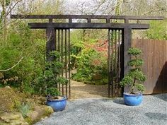 japanese gates and entrances | Torii Gate The Japanese Garden, St.Mawgan | Gardens in Cornwall #japanesegardening