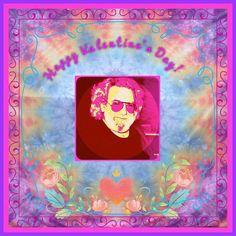 Happy Valentine's Day! Jerry Garcia Love, Grateful Dead Heart