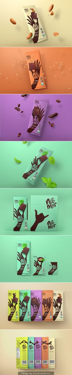 NibMor Agency: Pearlfisher Type of work: Commercial Country: New York, United States(Chocolate Design) Candy Packaging, Cool Packaging, Chocolate Packaging, Beverage Packaging, Packaging Ideas, Packaging Design Inspiration, Graphic Design Inspiration, Chocolates, Chocolate Brands