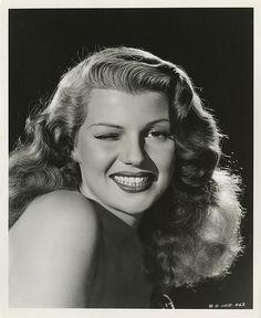 Portrait of Rita Hayworth by Ned Scott, 1940's