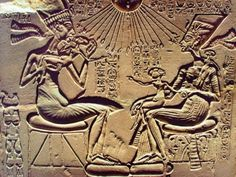 Pharaoh Akhenaten, Amenhotep IV, attempted to convert ancient Egypt to monotheism, but his story is more than just Aten worship. Ancient Aliens, Life In Ancient Egypt, Ancient Egypt Pharaohs, Ancient Mesopotamia, Ancient Egyptian Art, Ancient History, Egyptian Hieroglyphs, Agatha Christie, Amenhotep Iii