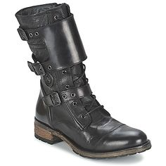 Boots / Chaussures montantes Pataugas DUSTY/B Noir 350x350