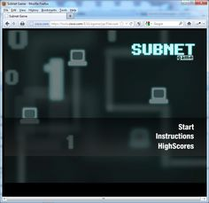 The Cisco Subnet Game!
