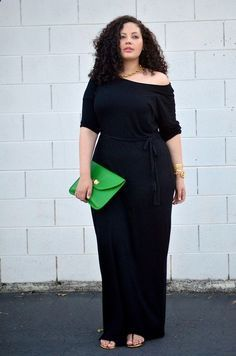 Plus size fashion A jumpsuit will always make your curves look good/ Just pick one that is not very tight fitting #plussizefashion #curvyfashions