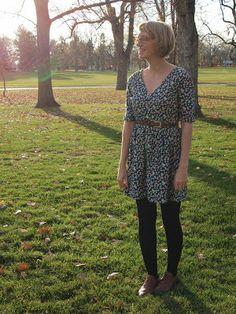 Fancy Tiger Crafts: Darling Ranges dress by Megan Nielsen