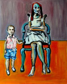 "Saatchi Online Artist James Himber; Painting, ""The Teenager"" #art"