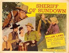 Sheriff of Sundown – Lesley Selander - 1944