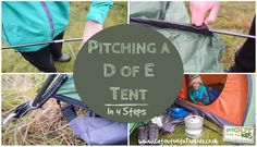 How to pitch a D of E Tent in Four Steps