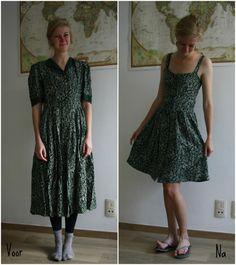 Cleolidewij - Groene jurk