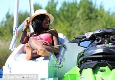 Wave Boat 444 converts a jet-ski into a five-seater boat Wave Boat, Sun Roof, Jet Ski, Head Start, Skiing, Waves, Mail Online, Daily Mail, Boats