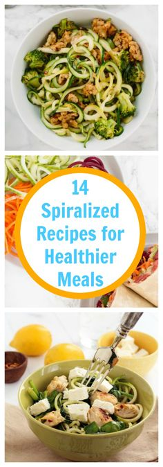 Food-14 Spiralized Recipes for Healthier Meals-The Organized Mom