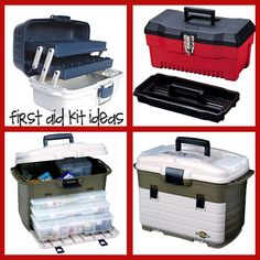 first aid kit ideas - I really like this website.