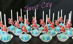 Little Mermaid cakepops