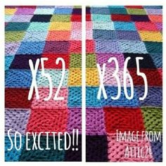 Hazel's Crochet - Joining in on a big KAL/CAL Mood Blanket 2014, all the rules are in this post! -------------------------
