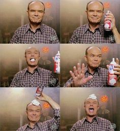 Red Forman: my idol That Show Steven Hyde, Red Foreman, That 70s Show Quotes, Entertainment Jobs, Thats 70 Show, Classic Tv, Wisconsin, I Laughed, Favorite Tv Shows