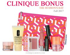 New Clinique Bonus at The Bay for Canadian shoppers. Spend $35 and more and choose Gift Sunrise or Gift Sunset. Spend more to get more. http://clinique-bonus.com/canada/