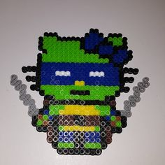 TMNT Hello Kitty perler beads by pixelartist3.0
