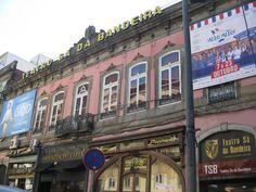 Teatro Sa da Bandeira en Oporto (Portugal)