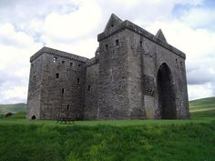 Hermitage Castle, Scottish Borders, Scotland