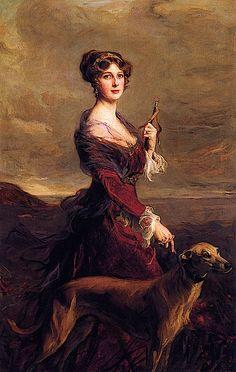 1913 Viscountess Castlereagh by Philip Alexius de Laszlo