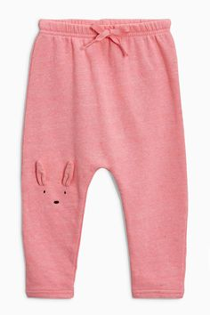 Buy Pink Character Joggers (3mths-6yrs) from the Next UK online shop
