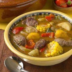 Mondongo de carne con verduras